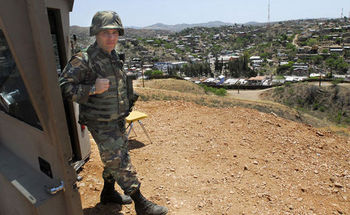 President Donald Trump has ordered up to 4,000 troops to the southwestern U.S. border to ramp up security. (latinamericanstudies.org)