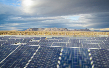 Nevada utilities have exceeded state goals for renewable energy for the eighth year, but environmental groups think perhaps it's a sign those goals are too modest. (BlackRockSolar/Flickr)