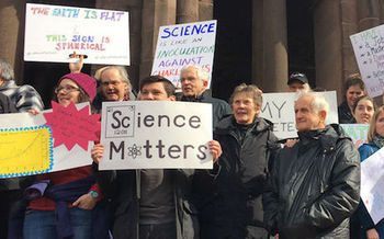 About 3,000 people attended the 2017 March for Science in Des Moines last April. (sciencemag.org)