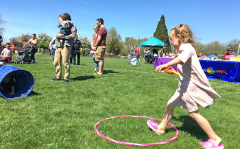An event at the Idaho Botanical Gardens will cap the Week of the Young Child on Saturday, April 21. (Idaho AEYC)