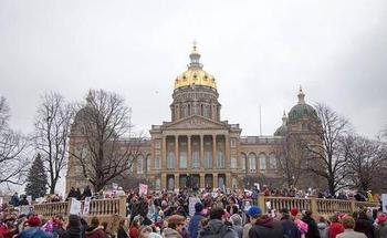 Democratic women running in this year's midterm elections have been galvanized since the nationwide Women's March, one day after the inauguration of President Donald Trump. (iowapublicradio.org)