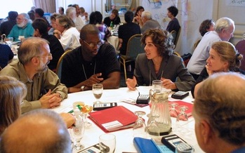 Community discussions are scheduled from coast to coast as part of this National Week of Conversation. (Sandy Heierbacher/NCDD)