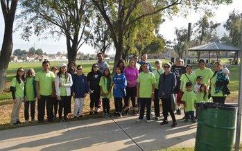 El programa Fontana Walks gan� el a�o pasado un subsidio para retar a los residentes a que caminen colectivamente un mill�n de millas en el transcurso de un a�o. (Fontana Walks)<br />