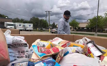 Last year, the Idaho Foodbank received 173,000 pounds of food during the Stamp Out Hunger food drive. (Idaho Foodbank)