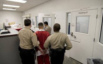 The private company GEO Group operates the Northwest Detention Center, an immigration prison in Tacoma, Wash. (Seattle Globalist/Flickr)
