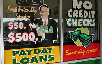 Short-term loans can become long-term cycles of debt when borrowers can't afford high-interest payments, consumer advocates say. (Taber Andrew Bain/Flickr)