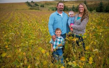 South Dakota's soybean crop was the nation's ninth largest in 2017. (sdsoybean.org)