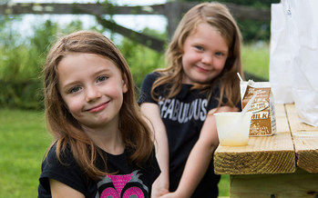 Children in nine Ohio counties receive food during the summer through the state's Rural Summer Food Program. (USDA)