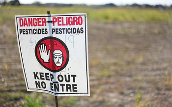 Doctors diagnose thousands of poisonings a year among agricultural workers. (Austin Valley/Flickr)