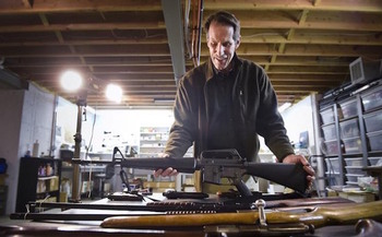 An organization in Helena, Mont., is trying to reduce the 300 million guns in the United States. (National Center for Unwanted Firearms)