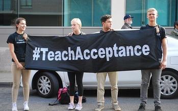 A majority of LGBTQ teens polled said they had experienced verbal threats. (Marybettiniblank/Pixabay)