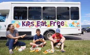 There are more than 90 summer meal sites throughout Montana. (Missoula Food Bank)