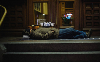 A big jump in housing costs has coincided with the growing issue of homelessness in Washington state. (Kid Clutch/Flickr)