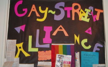 The Human Rights Campaign says policies that promote an inclusive school atmosphere are key to protecting LGBTQ teens' well-being. (Wikimedia Commons)