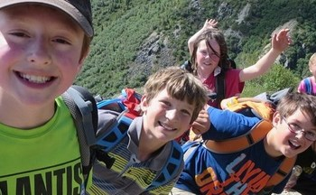 Just 5 percent of Wyoming children live in families where the household lacks a high school diploma, and 1 percent of children live in high-poverty areas. (National Park Service)
