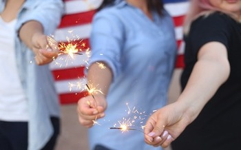 Sparklers can burn as hot as 1,800 degrees Fahrenheit. (Pixabay)