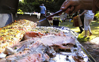 Be sure to cook meats to the proper temperatures, experts say, and use a thermometer instead of judging the meat by sight. (Kris Arnold/flickr)