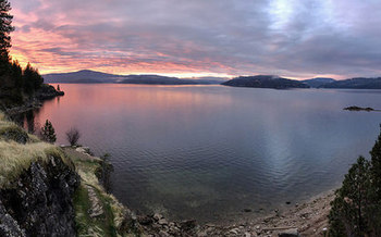 Lake Coeur D'Alene is one of many sites in Idaho that the Land and Water Conservation Fund has helped protect. (D. Taylor in Idaho/Flickr)