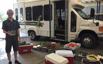 The Boise Farmers Market offers a mobile market to neighborhoods around the city. (Tamara Cameron/Boise Farmers Market)
