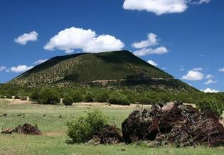 New Mexico's Capulin Volcano was designated a National Monument in 1916. (summitpost.org)