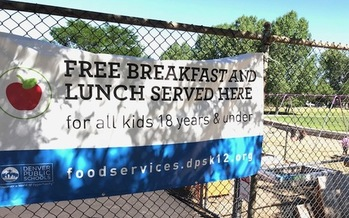 To find a free summer meal for any Coloradan age 18 and younger, text the word