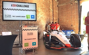 Formula E Championship electric race cars are helping speed the transition to zero-emission vehicles.  (Andrea Sears)