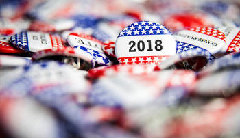"What will the 2018 midterm election bring? A Pew study found that, of the 92 million people who did not vote in 2016, the largest number said they ""didn't like the candidates or campaign issues."" (CyberTalk.org)"