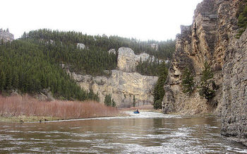 The Land and Water Conservation Fund has protected access to places like Montana's Smith River. (U.S. Forest Service Northern Region)