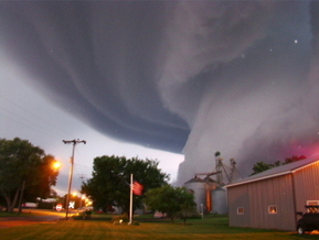 Extreme weather, from severe tornadoes to flash-flooding rains to extreme heat and drought, has hit Iowa and other Midwestern states this summer, and experts predict it's here to stay. (iowaenvironmentalfocus.org)