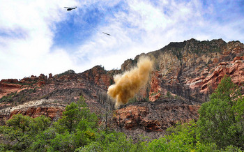 Wildfire season is getting longer across the Western United States, including in Arizona. (USDA/Flickr)