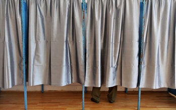 Voting takes place today for political office at the federal, state, county and township levels. (Roibu/iStockphoto)