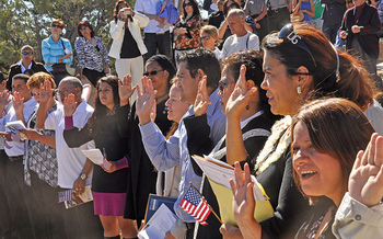 The National Partnership for New Americans reports the U.S. citizenship application backlog in Arizona has grown 129 percent since December 2015. (Flickr)