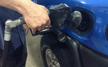 A new analysis shows that when SUVs, pickups and crossovers increased gas mileage 15 percent, sales shot up 70 percent. (Mike Mozart/Flickr)