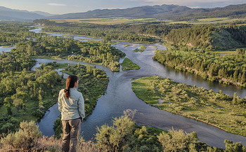 Idaho has received $279 million from the LWCF over the past 50 years to protect places like the South Fork of the Snake River. (Bob Wick/Bureau of Land Management)