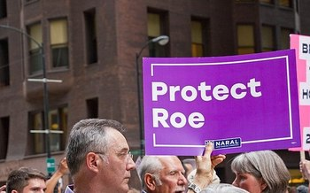 Opponents of Brett Kavanaugh's nomination to the Supreme Court are concerned he could overturn Roe v. Wade. (Charles Edward Miller/Wikimedia Commons)