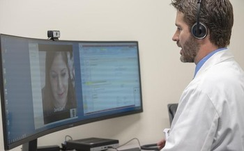 Virtual health centers are popping up across the country to connect with people in rural communities. (St. Luke's Health System)