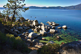 Records show the water in Lake Tahoe is warming up quickly, which is throwing off the natural balance of the lake's ecosystem. (Andrew Toskin/Flickr)