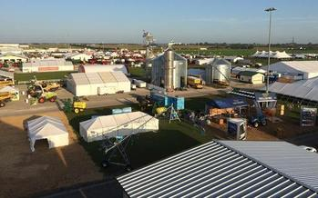 Amidst tariff talks, Iowa hosted the nation's largest outdoor farm equipment show this week. (Josh Flint/Farm Progress Show)