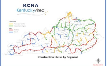 The Kentucky Wired plan to install high speed Internet nodes in every county is expected to be complete in the next two years. (Kentuckywired)