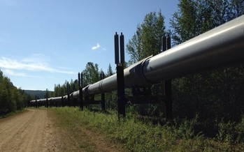 The Trans Alaskan Pipeline is one of the world's largest pipeline systems. The proposed Atlantic Coast Pipeline would run between West Virginia and North Carolina. (Twenty20)