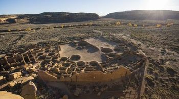 A 10-mile buffer region is all that's left of protection from oil and gas drilling near New Mexico's Chaco Culture National Historical Park. (news.umn.edu)