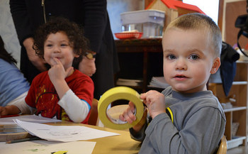 Increasing access to early childhood education is one key strategy for helping young parents. (Jay Inslee/Flickr)
