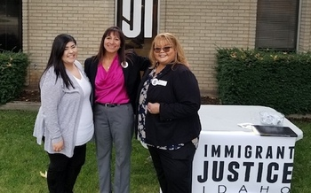 In the past, Idahoans in the immigrant court system were referred to free and low-cost legal services in Montana or Washington. (Immigrant Justice Idaho)