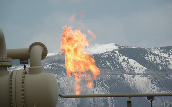 Last week, the Interior Department undid regulations that prevent methane flaring on drilling operations. (Tim Hurst/Flickr)