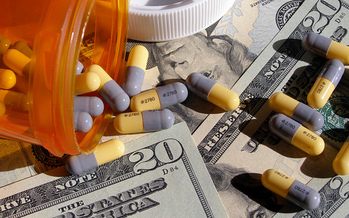 In 2016, Americans spent $450 billion on prescription drugs, according to researchers. (Chris Potter/Flickr)