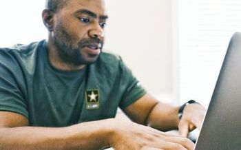 The North Carolina Department of Commerce, NCWorks.gov, connects veterans with employers and also provides a crisis hotline to reach caring, qualified responders with the Department of Veterans Affairs. (charlinjanene/Twenty20)
