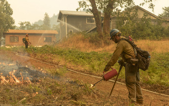 A recent study found Native Americans are six times more vulnerable to wildfires. (University of Washington)