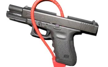 A report commissioned by the Utah Legislature finds that simple steps such as trigger locks could prevent many of the state�s firearm suicides. (Wikimedia Commons)<br /><br />
