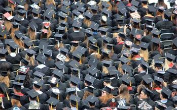 Massachusetts state higher-education graduates are saddled with about $30,000 in debt. (CC0 Creative Commons/Pixabay)