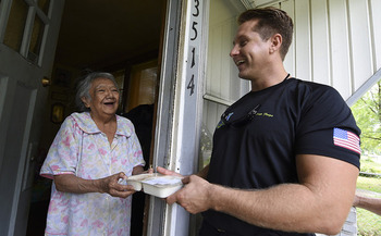 Meals on Wheels ramps up its services for the holiday season and is looking for volunteers. (Pyoung K. Yi/U.S. Navy)